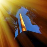 η γήινη βιομηχανία της Ανδαλουσίας χαλά τη μεταλλεία Ισπανία Στοκ φωτογραφία με δικαίωμα ελεύθερης χρήσης