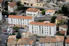 Η γαλλική πόλη Anduze Στοκ εικόνα με δικαίωμα ελεύθερης χρήσης
