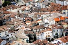 Η γαλλική πόλη Anduze Στοκ εικόνες με δικαίωμα ελεύθερης χρήσης
