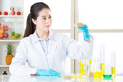 Η γενετική τροποποίηση μπορεί να είναι υγιής ή όχι Στοκ Εικόνα