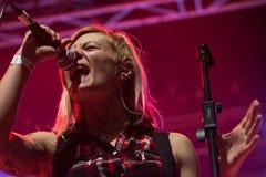 Η γενιά στη λέσχη MI 16-03-2018 ζωντανής μουσικής Στοκ Φωτογραφία