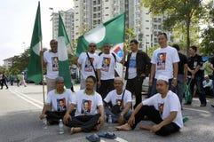 13η γενική εκλογή της Μαλαισίας Στοκ Εικόνες