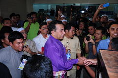 13η γενική εκλογή 2013 της Μαλαισίας Στοκ Εικόνα