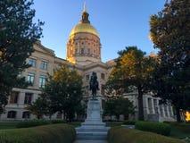 Η Γεωργία Statehouse, Ατλάντα, GA στοκ εικόνες με δικαίωμα ελεύθερης χρήσης