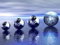η γη βρίσκει να αναπτύξει α& Στοκ Εικόνα
