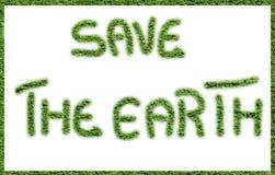 η γη σώζει Στοκ Εικόνες