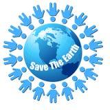 η γη σώζει Στοκ φωτογραφία με δικαίωμα ελεύθερης χρήσης