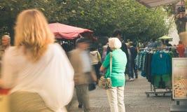 Η για τους πεζούς ζώνη σε Viersen Στοκ εικόνα με δικαίωμα ελεύθερης χρήσης