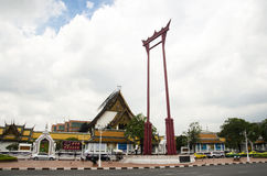 Η γιγαντιαίο ταλάντευση ή το Σάο Chingcha είναι μια θρησκευτική δομή σε Phra Nakhon Στοκ Φωτογραφία