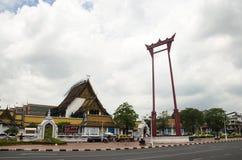 Η γιγαντιαίο ταλάντευση ή το Σάο Chingcha είναι μια θρησκευτική δομή σε Phra Nakhon Στοκ εικόνα με δικαίωμα ελεύθερης χρήσης