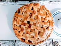 Η γλυκιά πίτα της Κυριακής στοκ εικόνες