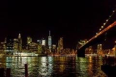 Η γραμμή ουρανού της Νέας Υόρκης Στοκ φωτογραφία με δικαίωμα ελεύθερης χρήσης