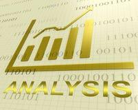 Η γραφική παράσταση ανάλυσης παρουσιάζει στοιχεία Analytics τρισδιάστατη απόδοση διανυσματική απεικόνιση