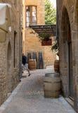 η γραφική πόλη του Λα Caneda Sarlat στο τμήμα Dordogne, Aquitaine, Γαλλία στοκ φωτογραφία με δικαίωμα ελεύθερης χρήσης