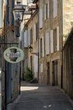 Η γραφική πόλη του Λα Caneda Sarlat στο τμήμα Dordogne, Aquitaine, στοκ φωτογραφία
