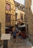 Η γραφική πόλη του Λα Caneda Sarlat στο τμήμα Dordogne, Aquitaine, στοκ φωτογραφίες με δικαίωμα ελεύθερης χρήσης