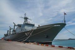 Η ΓΡΗΓΟΡΗ ΦΡΕΓΑΤΑ, σκάφος μάχης ΓΦ ήταν παρουσιάζει Στοκ φωτογραφία με δικαίωμα ελεύθερης χρήσης
