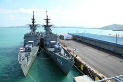 Η ΓΡΗΓΟΡΗ ΦΡΕΓΑΤΑ, σκάφος μάχης ΓΦ εμφανίστηκε Στοκ Εικόνα