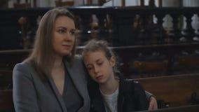 Η γυναίκα και η κόρη της στην εκκλησία φιλμ μικρού μήκους