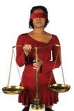 η γυναίκα κλιμάκων εκμετάλλευσης Στοκ φωτογραφία με δικαίωμα ελεύθερης χρήσης