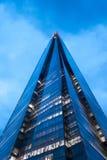 η γωνία 306m είναι κτηρίου οικοδόμησης της ΕΕ hdr ορόσημων καλυμμένος ουρανός scrapper του Λονδίνου νέος shard που λεπτός πιό ψηλ στοκ εικόνα με δικαίωμα ελεύθερης χρήσης