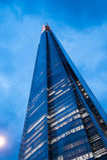 η γωνία 306m είναι κτηρίου οικοδόμησης της ΕΕ hdr ορόσημων καλυμμένος ουρανός scrapper του Λονδίνου νέος shard που λεπτός πιό ψηλ Στοκ φωτογραφίες με δικαίωμα ελεύθερης χρήσης