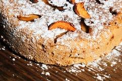 Η γλυκιά πίτα μήλων Στοκ Εικόνες