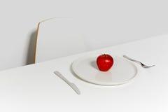 Η γλυκιά Apple για να κάνει δίαιτα Στοκ εικόνα με δικαίωμα ελεύθερης χρήσης
