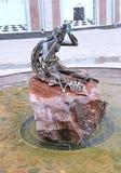 Η γλυπτό-πηγή SU Anasy (πνεύμα νερού) Kazan στοκ εικόνα με δικαίωμα ελεύθερης χρήσης