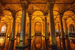 Η δεξαμενή βασιλικών, Yerabathan, Ιστανμπούλ, Τουρκία Στοκ φωτογραφία με δικαίωμα ελεύθερης χρήσης