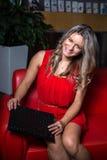 Η Δεσποινίς επιχειρηματίας στοκ φωτογραφία