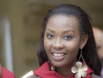 Η Δεσποινίς διεθνής 2014 δεσποινίδα Νιγηρία πορτρέτου προόδου Στοκ φωτογραφία με δικαίωμα ελεύθερης χρήσης