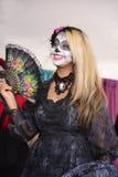 Η Δεσποινίς La Catrina Στοκ Φωτογραφίες