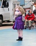 Η Δεσποινίς Piggy στη Νέα Υόρκη στοκ εικόνες με δικαίωμα ελεύθερης χρήσης