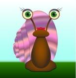 Η Δεσποινίς Snail Στοκ Φωτογραφίες