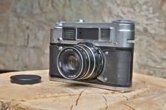 Η δεύτερη φωτογραφική μηχανή τύπων είναι στη καλή φόρμα Στοκ Φωτογραφία