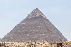 Η δεύτερος-πιό ψηλή πυραμίδα της αρχαίας Αιγύπτου στοκ φωτογραφίες με δικαίωμα ελεύθερης χρήσης
