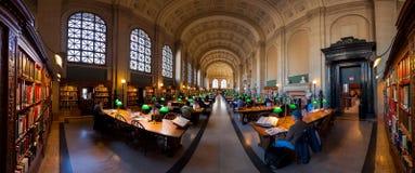 Η δημόσια βιβλιοθήκη της Βοστώνης Στοκ εικόνες με δικαίωμα ελεύθερης χρήσης