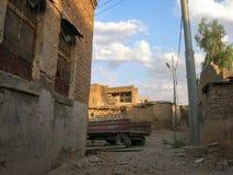 Η διάσημη ακρόπολη Erbil, Κουρδιστάν Τοπικά, κέντρο στοκ εικόνες με δικαίωμα ελεύθερης χρήσης
