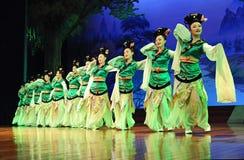 Η διάσημη δυναστεία του Tang εμφανίζει στοκ εικόνα