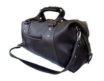 Η διακινούμενη τσάντα με ένα μετακινούμενο λουρί ώμων, αυτό είναι απομονωμένη σε ένα άσπρο υπόβαθρο Στοκ Εικόνα