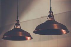 Η διακόσμηση ο παλαιός Edison οδήγησε τις ελαφριές λάμπες φωτός ινών ύφους, στοκ εικόνες με δικαίωμα ελεύθερης χρήσης