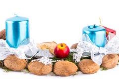 η διακόσμηση Χριστουγένν&omeg Στοκ φωτογραφία με δικαίωμα ελεύθερης χρήσης