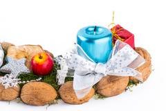 η διακόσμηση Χριστουγένν&omeg Στοκ Εικόνα
