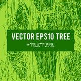 Η διανυσματική σκιαγραφία ενός δέντρου για το υπόβαθρο με τις φυσικές συστάσεις φυλλώματος Στοκ φωτογραφίες με δικαίωμα ελεύθερης χρήσης