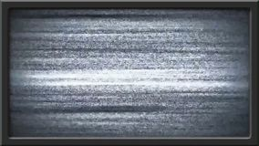 Η διαταραχή εικόνας TV και βγαίνει - πράσινη επίδραση οθόνης διανυσματική απεικόνιση