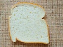 Η δομή του άσπρου ψωμιού Στοκ Εικόνες