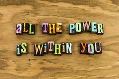 Η δύναμη δύναμης μέσα σε σας θεωρεί στοκ φωτογραφίες με δικαίωμα ελεύθερης χρήσης