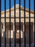 Η είσοδος στο Λα Vieille Charite στοκ εικόνα με δικαίωμα ελεύθερης χρήσης