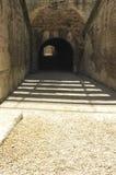 Η είσοδος του χώρου Arles Στοκ Φωτογραφίες
